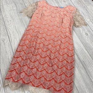 Antonio Melani lace shift dress - sz 10